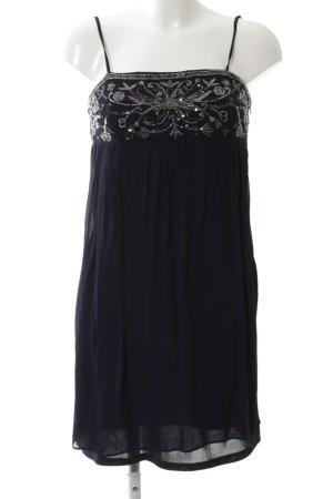 Zara Basic Minikleid schwarz abstraktes Muster Elegant
