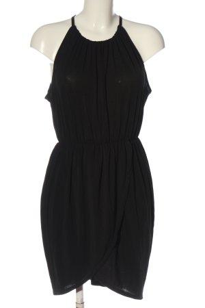 Zara Basic Minikleid schwarz Elegant
