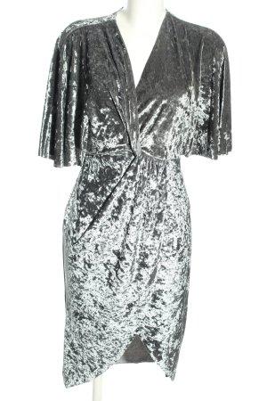Zara Basic Minikleid silberfarben Elegant