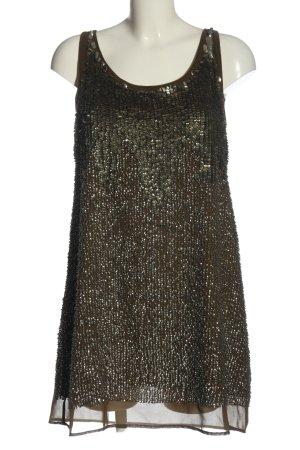 Zara Basic Minikleid bronzefarben Elegant