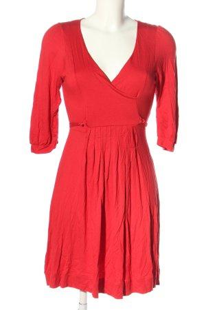Zara Basic Minikleid rot Casual-Look