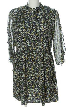 Zara Basic Minikleid Allover-Druck Elegant