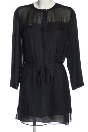 Zara Basic Minikleid schwarz Business-Look