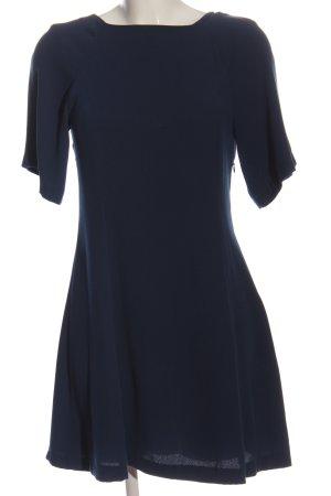 Zara Basic Minikleid blau Casual-Look