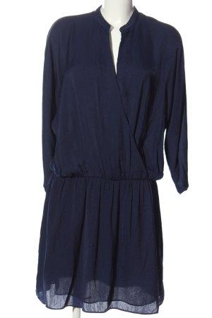 Zara Basic Minikleid blau Elegant