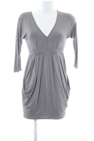 Zara Basic Minikleid grau Party-Look