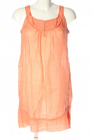 Zara Basic Minikleid hellorange Casual-Look