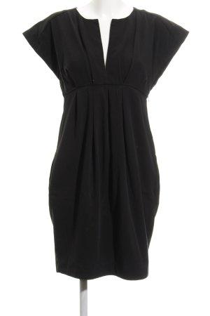 Zara Basic Minikleid schwarz Casual-Look