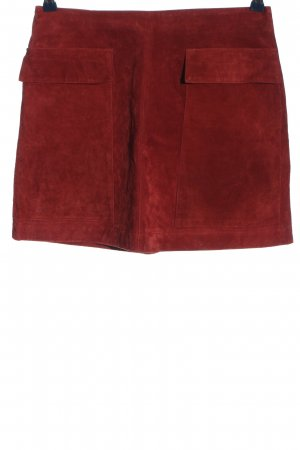 Zara Basic Minirock rot Business-Look