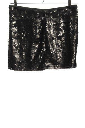 Zara Basic Minirock schwarz Elegant