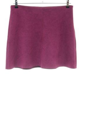 Zara Basic Minirock pink Casual-Look