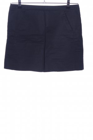 Zara Basic Minirock schwarz Business-Look