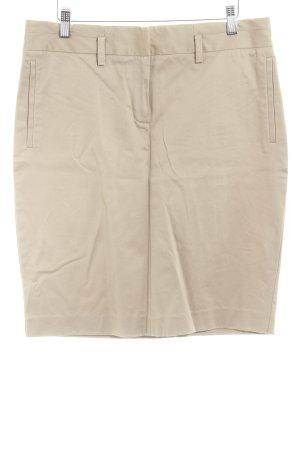 Zara Basic Mini rok beige zakelijke stijl
