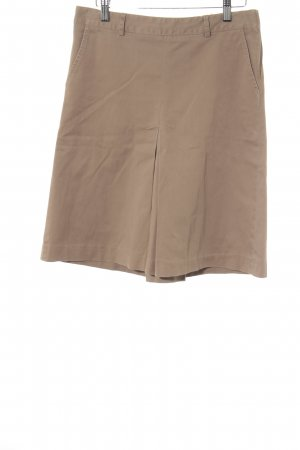 Zara Basic Minirock beige Casual-Look