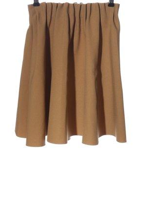 Zara Basic Minirock nude Casual-Look