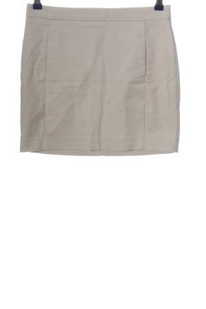Zara Basic Minirock wollweiß Casual-Look