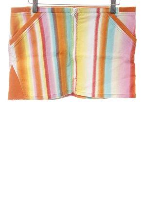 Zara Basic Minirock Farbverlauf Casual-Look