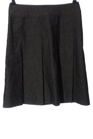 Zara Basic Minirock braun Casual-Look