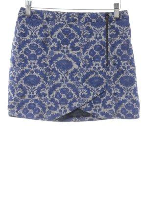 Zara Basic Minirock mehrfarbig Casual-Look