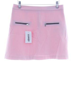 Zara Basic Minirock hellrosa Casual-Look