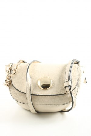 Zara Basic Minibolso blanco puro look casual