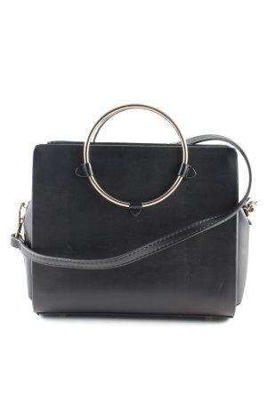 Zara Basic Mini sac noir style d'affaires