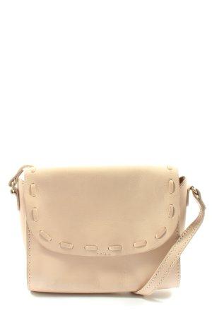 Zara Basic Borsetta mini crema stile casual