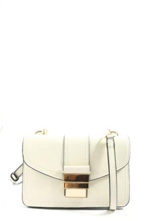 Zara Basic Minitasche weiß Casual-Look