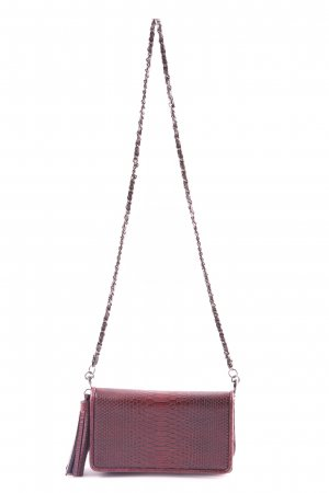 Zara Basic Minitasche braun Animalmuster Business-Look
