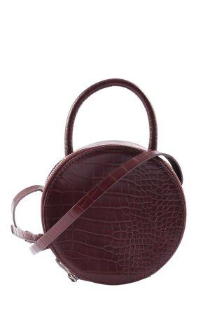 Zara Basic Minitasche rot Animalmuster Elegant