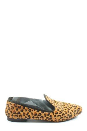 Zara Basic Mokassins Allover-Druck Business-Look