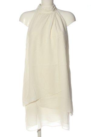 Zara Basic Neckholderkleid weiß Elegant