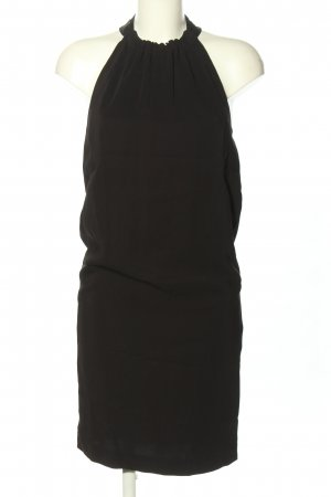 Zara Basic Halter Dress black casual look