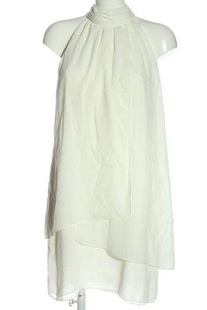 Zara Basic Halter Dress natural white casual look