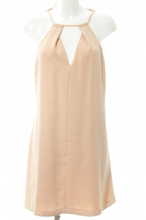 Zara Basic Halter Dress apricot elegant