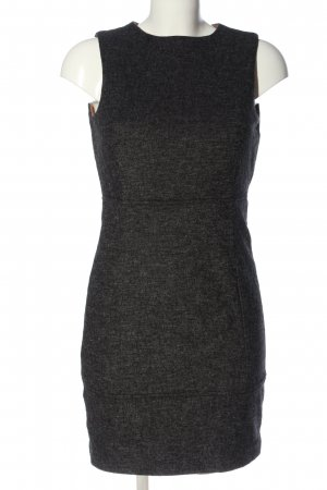 Zara Basic Halter Dress black flecked elegant