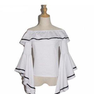 ZARA Basic Off Shoulder Bluse