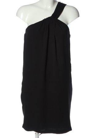Zara Basic Robe asymétrique noir style décontracté
