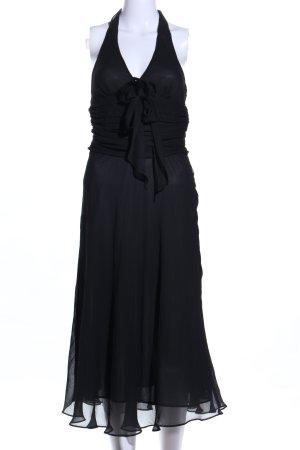 Zara Basic One-Shoulder-Kleid schwarz Elegant