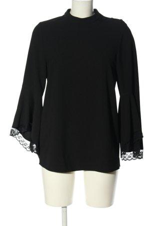 Zara Basic Blouse oversized noir style décontracté