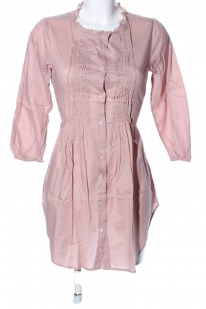 Zara Basic Oversized Bluse pink Casual-Look