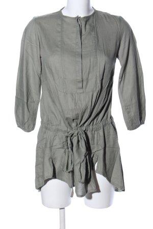 Zara Basic Oversized Shirt khaki Casual-Look