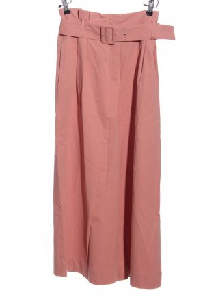 Zara Basic Palazzo Pants pink casual look