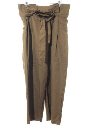 Zara Basic Pantalone palazzo ocra elegante