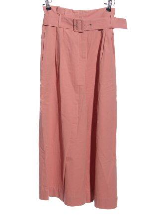 Zara Basic Spodnie palazzo różowy W stylu casual