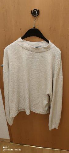 ZARA basic pulli in beige