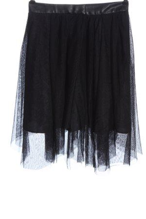 Zara Basic Gonna in crinolina nero elegante