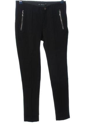 Zara Basic Regenpijpbroek zwart zakelijke stijl