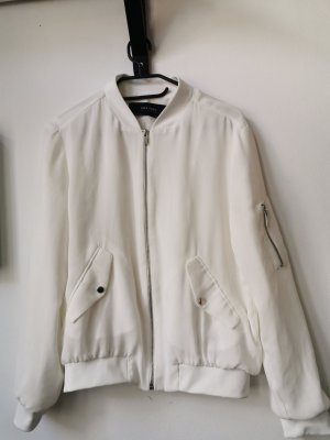 Zara Basic Veste chemisier blanc