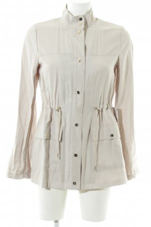 Zara Basic Safari Jacket natural white casual look